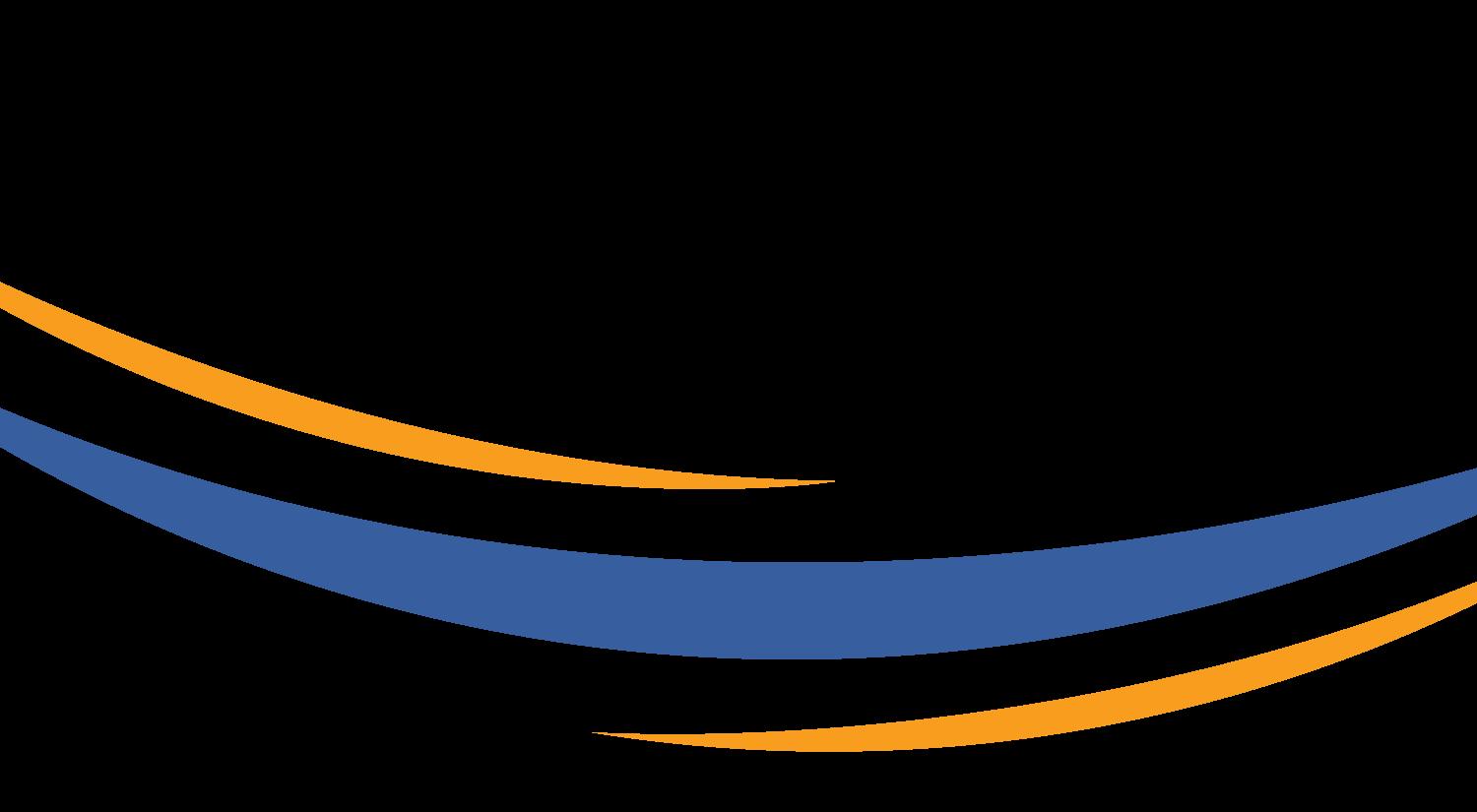 Enteris BioPharma orange-and-medium-blue lower logo swoosh