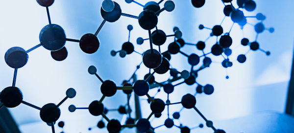 Image of molecules in peptide drug delivery system developed by Enteris Biopharma.